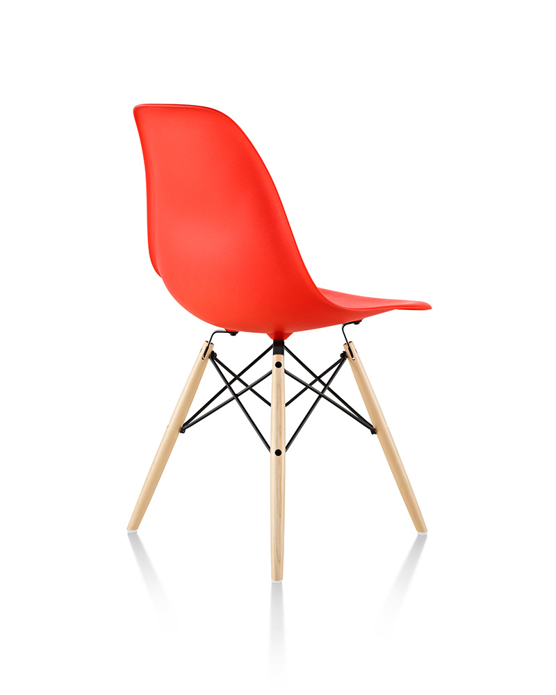 Eames Molded Plastic Side Chair and Hang-it-All - Item4