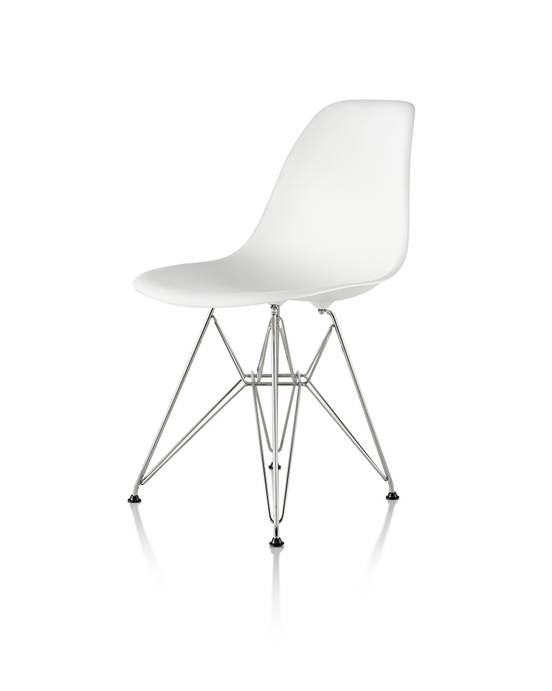 Eames Molded Plastic Side Chair and Hang-it-All - Item5
