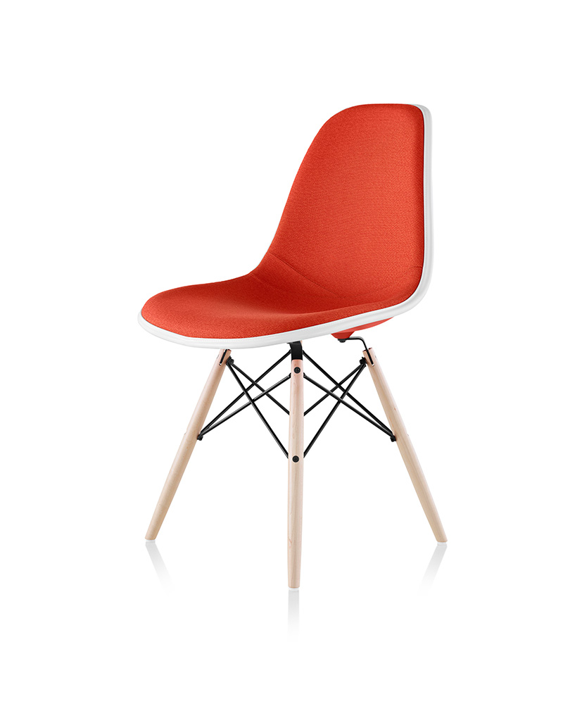 Eames Molded Plastic Side Chair and Hang-it-All - Item9