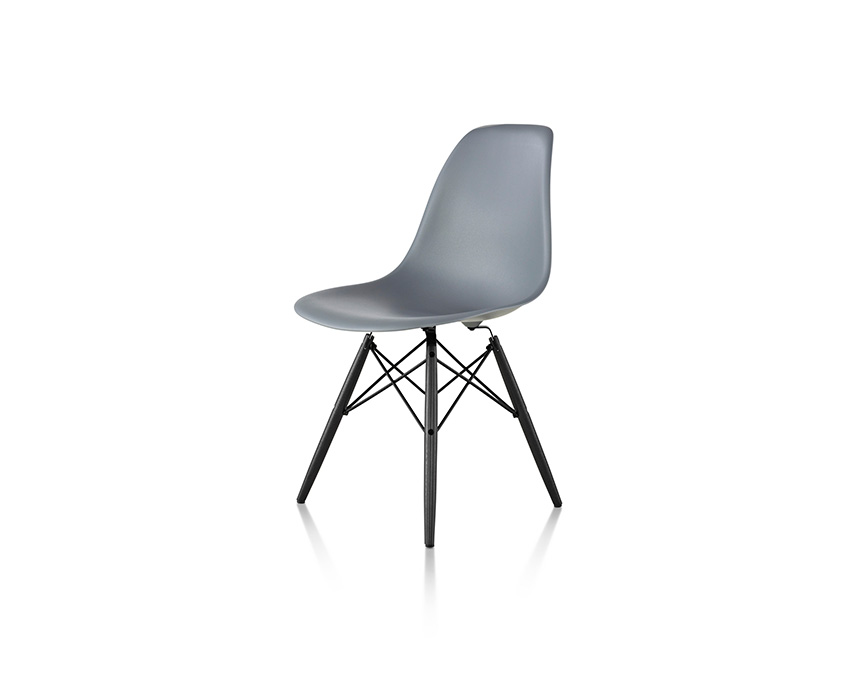 Eames Molded Plastic Side Chair and Hang-it-All - Item11