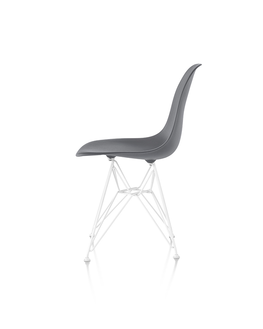 Eames Molded Plastic Side Chair - Item12