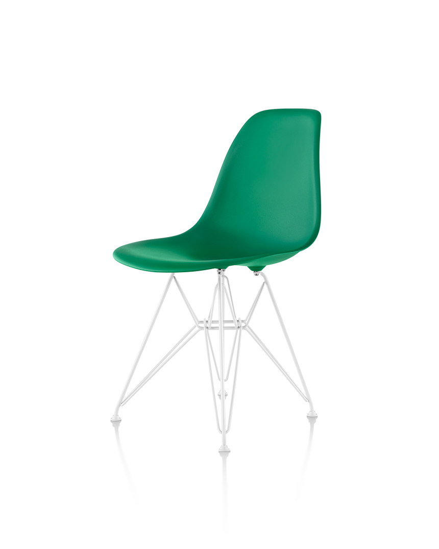 Eames Molded Plastic Side Chair and Hang-it-All - Item15