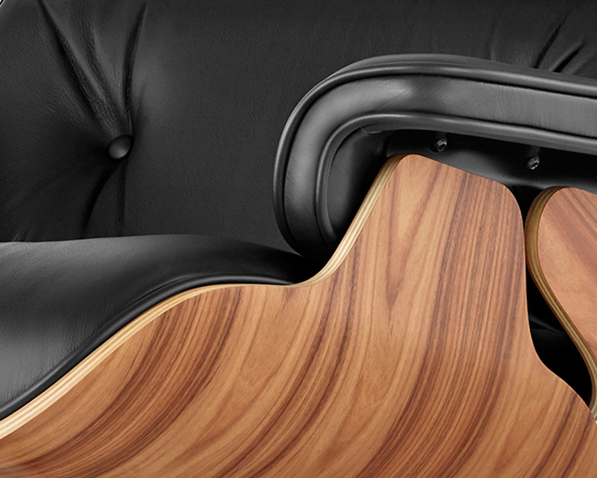 Eames Lounge Chair and Ottoman - Item6