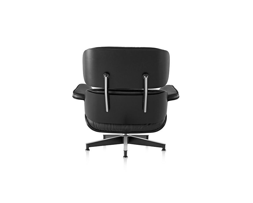 Eames Lounge Chair and Ottoman, Ebony - Item6