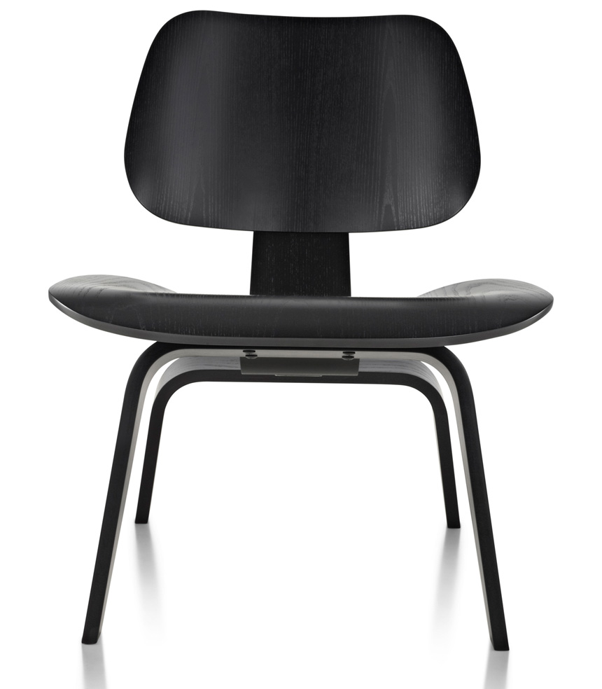 Eames Molded Plywood Lounge Chair Wood Base - Item2