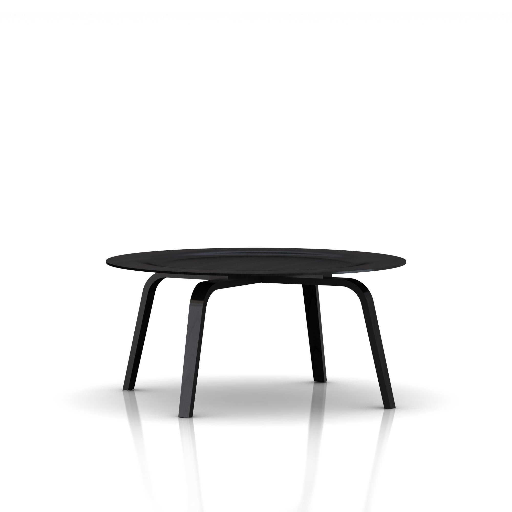 Eames Molded Plywood Coffee Table Wood Base - Item3