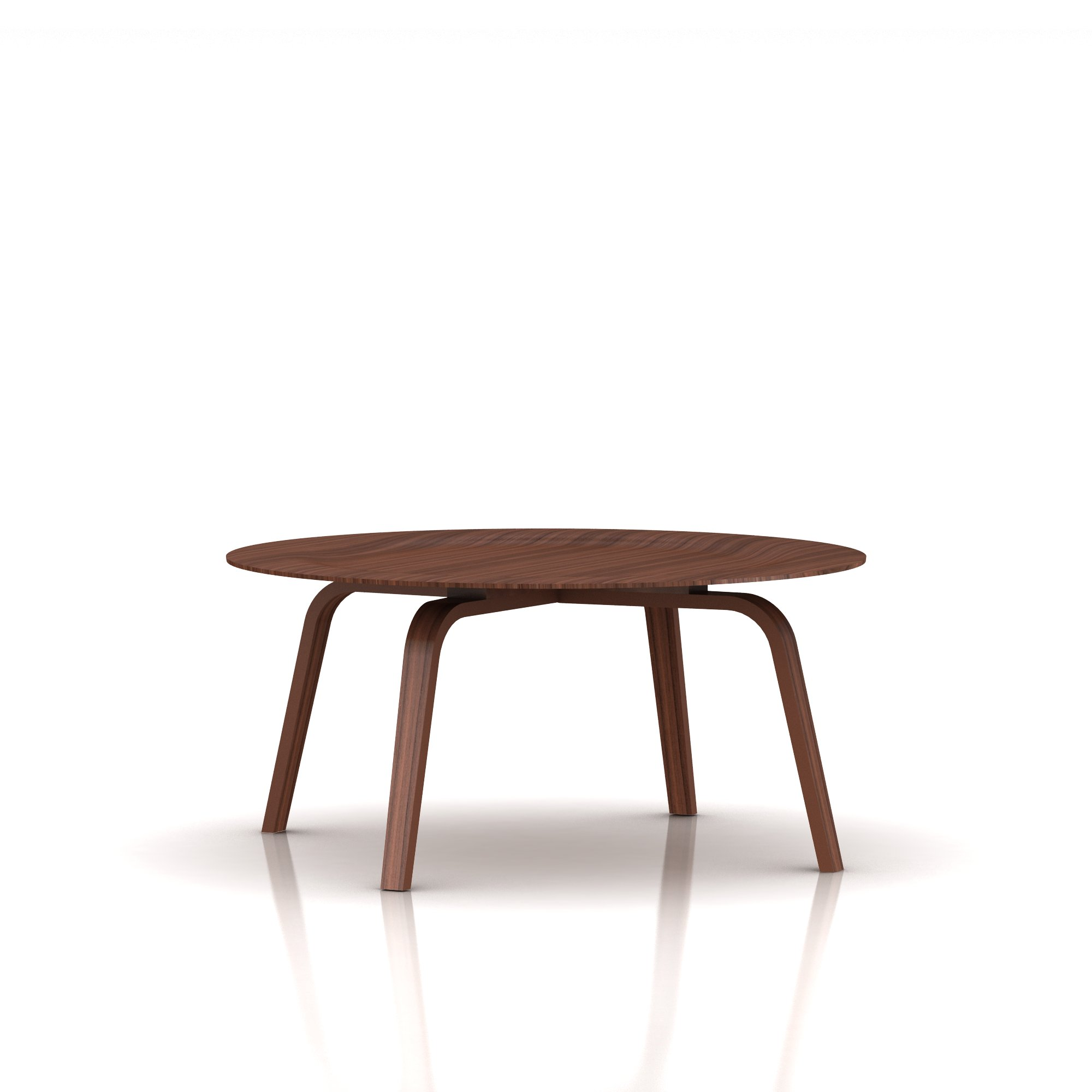 Eames Molded Plywood Coffee Table Wood Base - Item4
