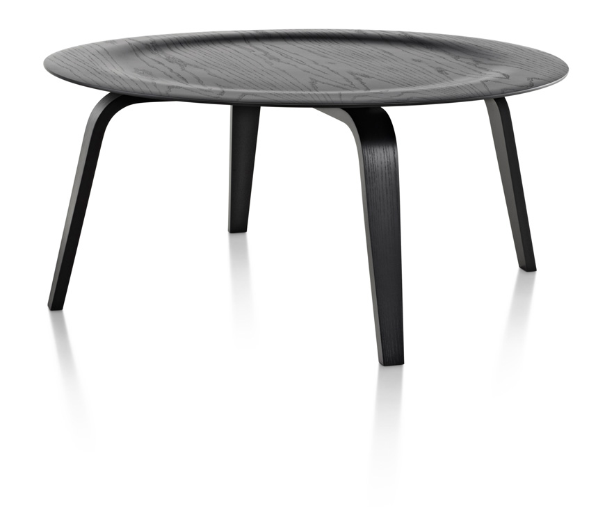 Eames Molded Plywood Coffee Table Wood Base - Item1