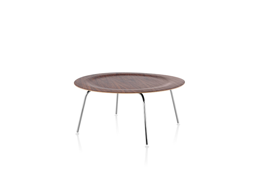 Eames Molded Plywood Coffee Table Metal Base - Item3