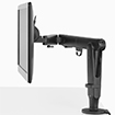An ergonomic solution for lighter and larger screens