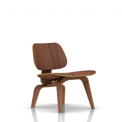 herman miller wood chair. eames molded plywood lounge chair wood base herman miller i