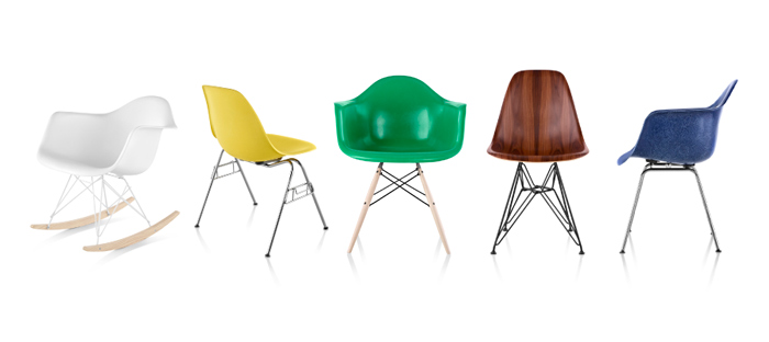 Eames Shell Chairs