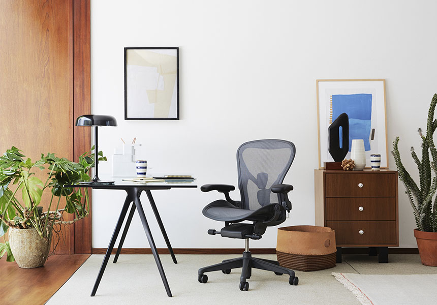 Aeron Chair - Mineral C size - Item1