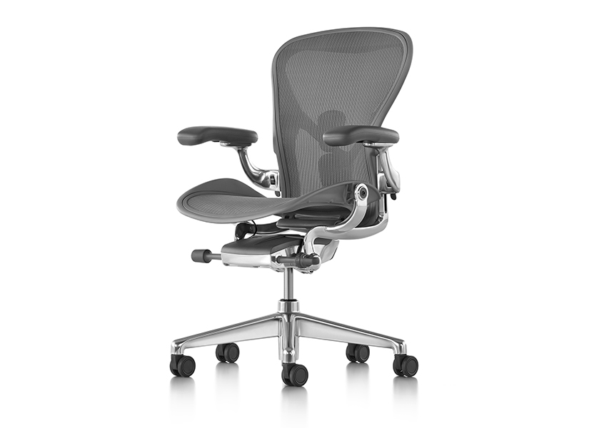 Aeron Chair - Graphite C size - Item11