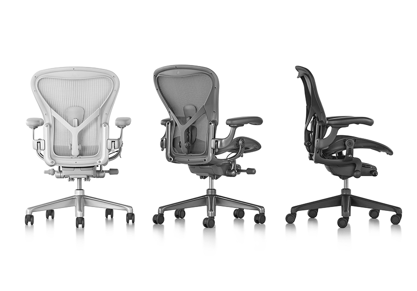 Aeron Chair - Graphite C size - Item5