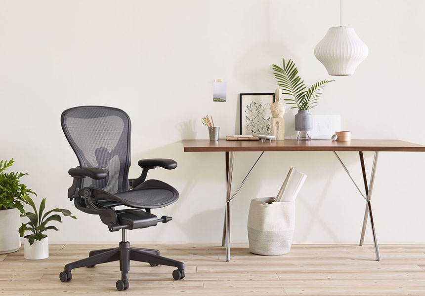 Aeron Chair - Mineral C size - Item2