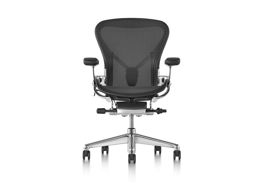 Aeron Chair - Carbon C size - Item7