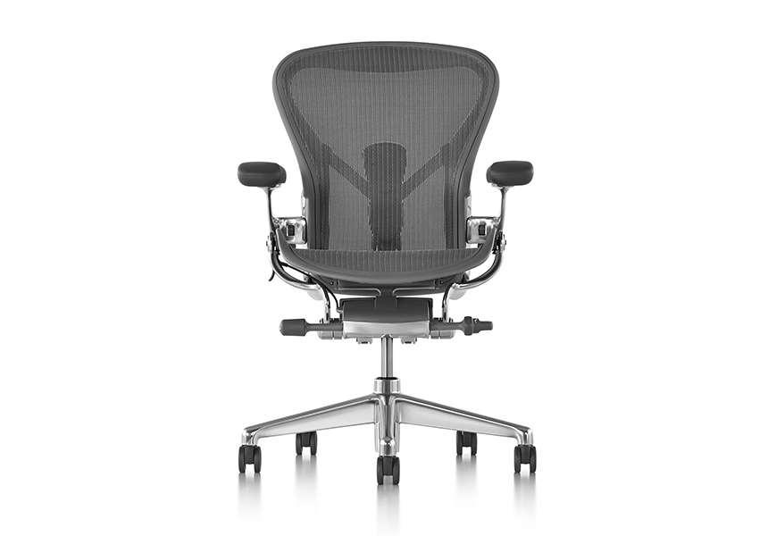 Aeron Chair - Graphite C size - Item10