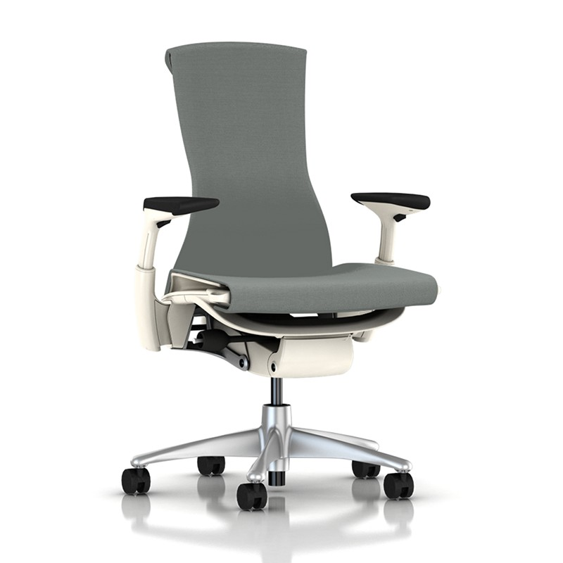 NEW - New Fabric - Embody Chair (Slate Grey Sync)