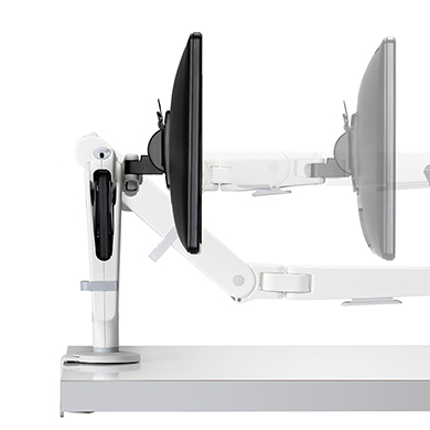 Ollin Dynamic Monitor Arm - White