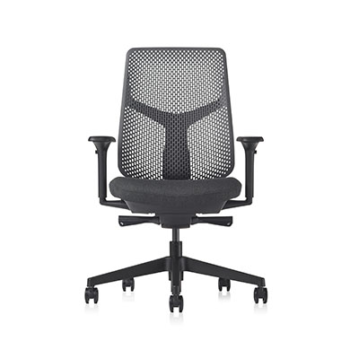 Verus Chair - Triflex Polymer Black