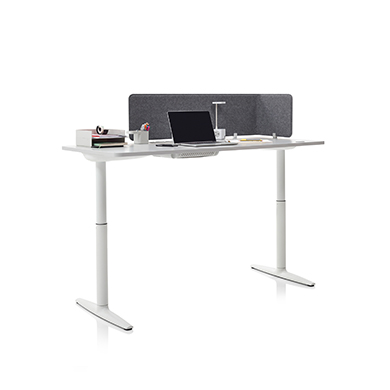 Atlas Height-Adjustable Desk W1400 x D700 - Item1