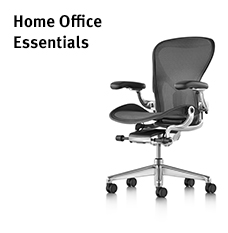 Reshape home work and study with Herman Miller's ergonomically minded products