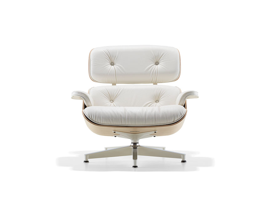 Eames Lounge Chair and Ottoman (White Ash) - Item3