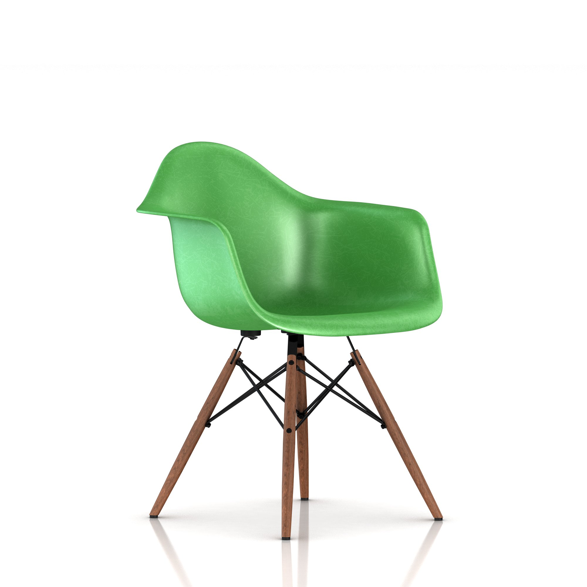Green + Walnut leg