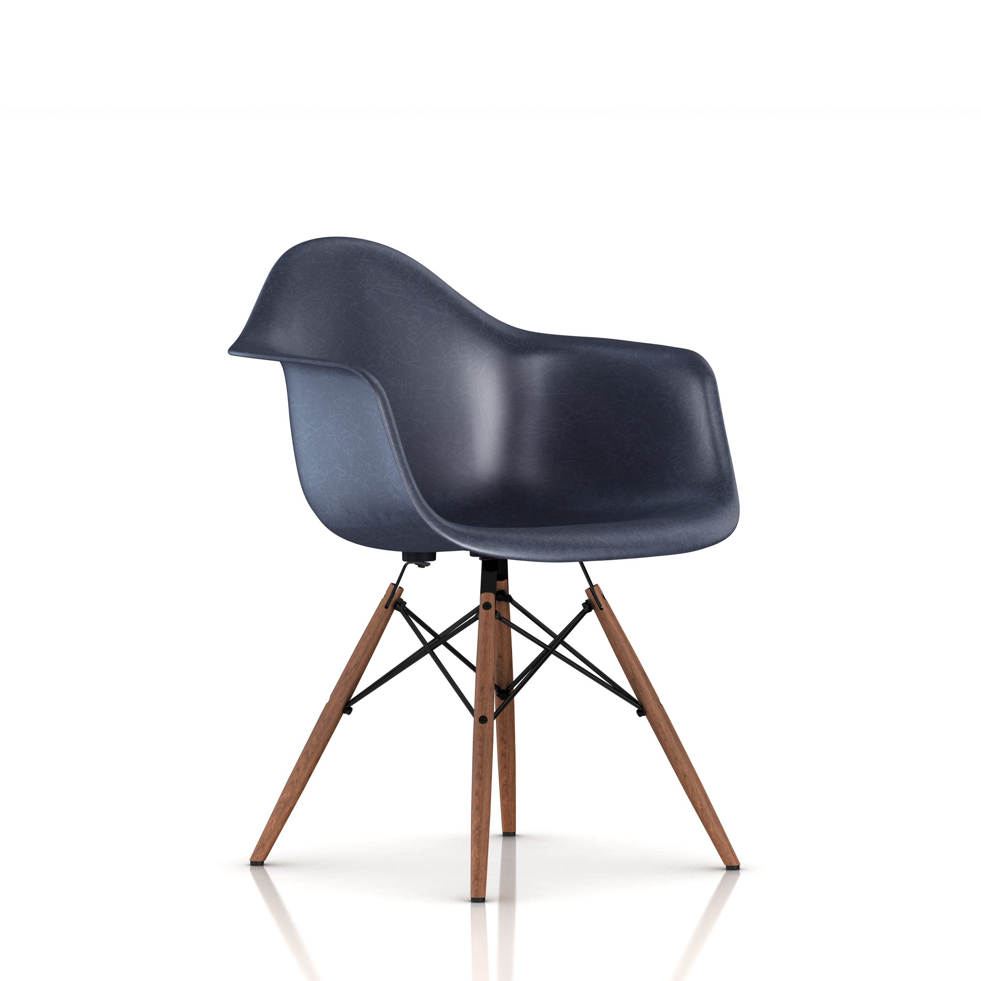 Navy Blue + Walnut leg