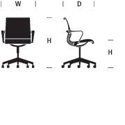 Setu Chair Dimensions Graphic