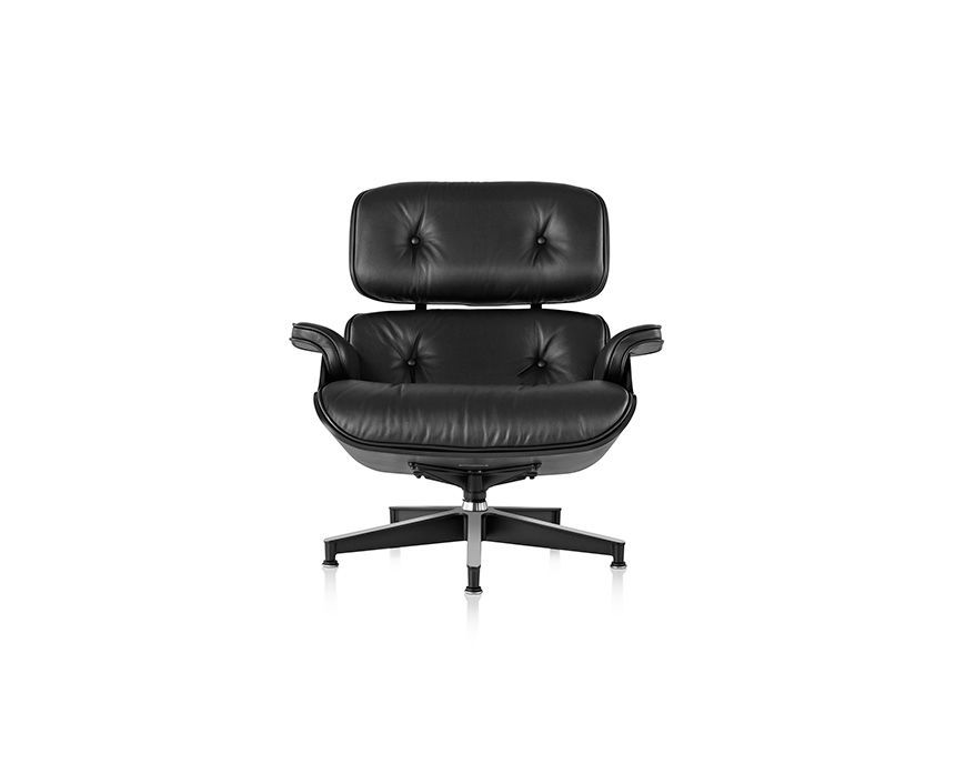 Eames Lounge Chair and Ottoman, Ebony - Item3