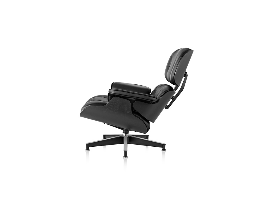 Eames Lounge Chair and Ottoman, Ebony - Item5