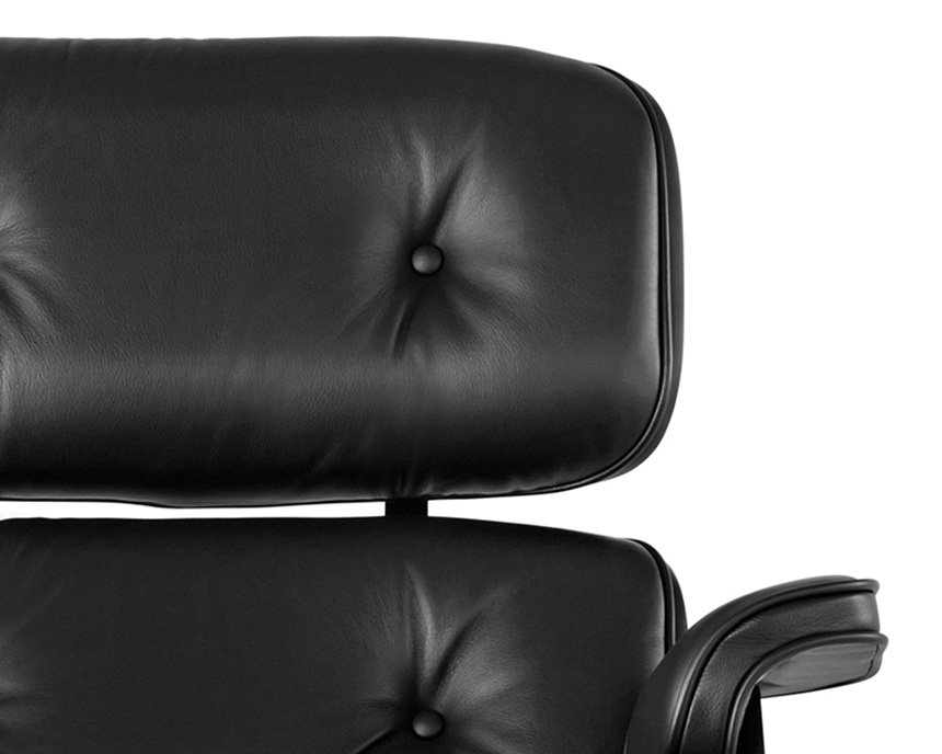 Eames Lounge Chair and Ottoman, Ebony - Item9