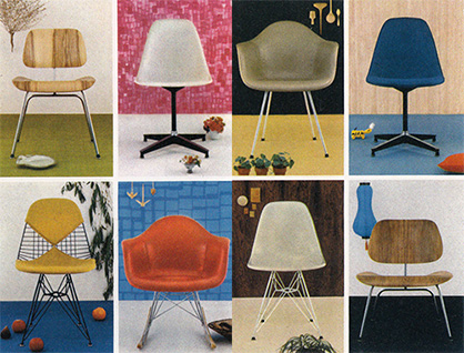 Eames Molded Shell Chairs