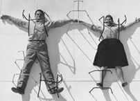 A playful Charles and Ray Eames