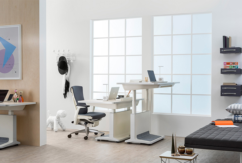 T2 Rectangular - Electric Height Adjustable Desk - Item1
