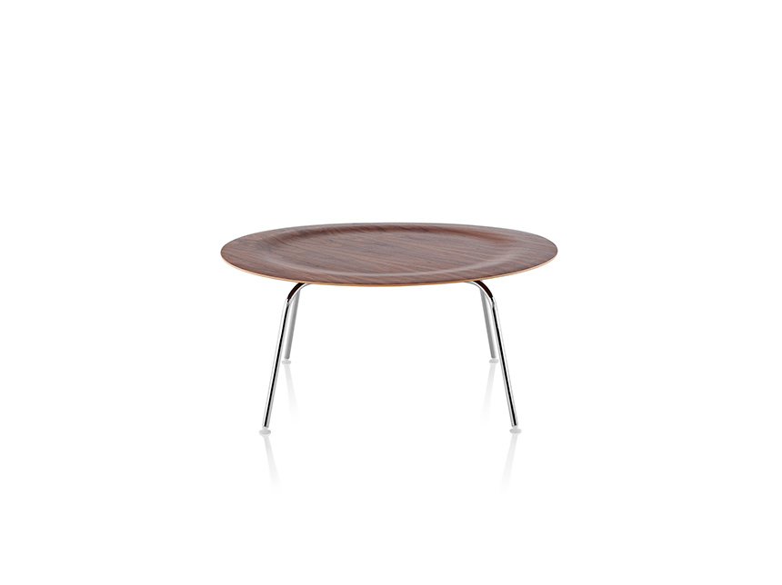 Eames Molded Plywood Coffee Table Metal Base - Item4