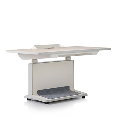 Elm Surface color - White Body color - Folkstone grey Accent color - Soft gray Foot Mat Finish - Soft gray Interior Finish - White Power Console color - W1400xD830xH650-H1250 Size