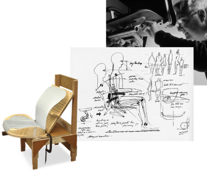 Aeron Chair Designs by Don Chadwick