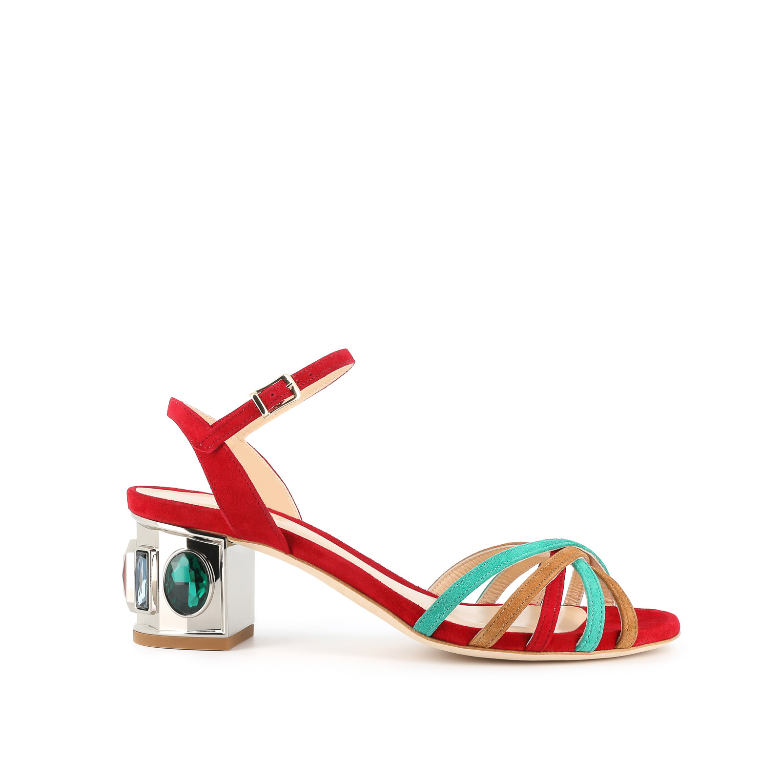 Red Fancy Sandals