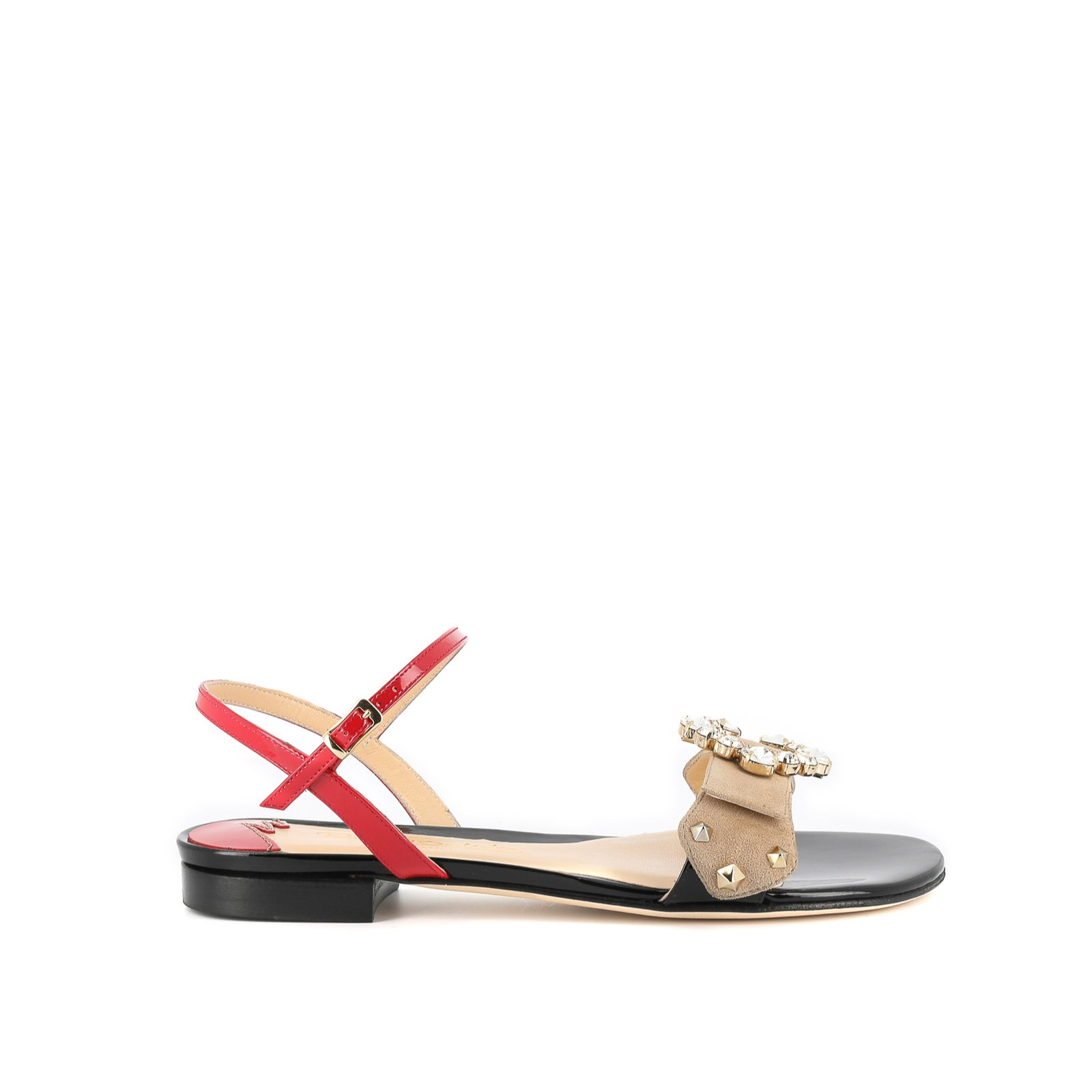 Red Chic Sandals