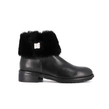 Zarina Boots with fur