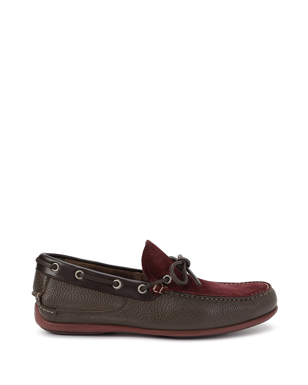 Mango Leather Driver Shoes