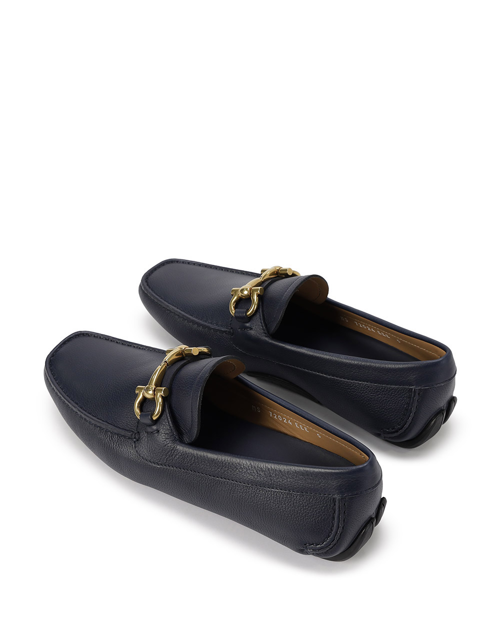Leather Loafers With Metal Buckle 2