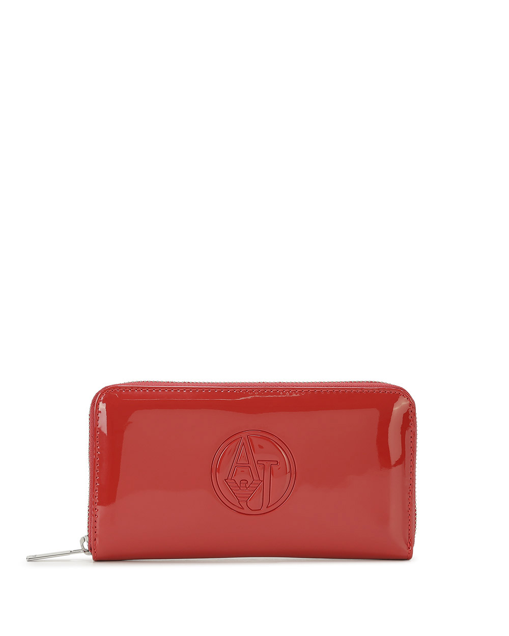 Patent Leather Long Wallet