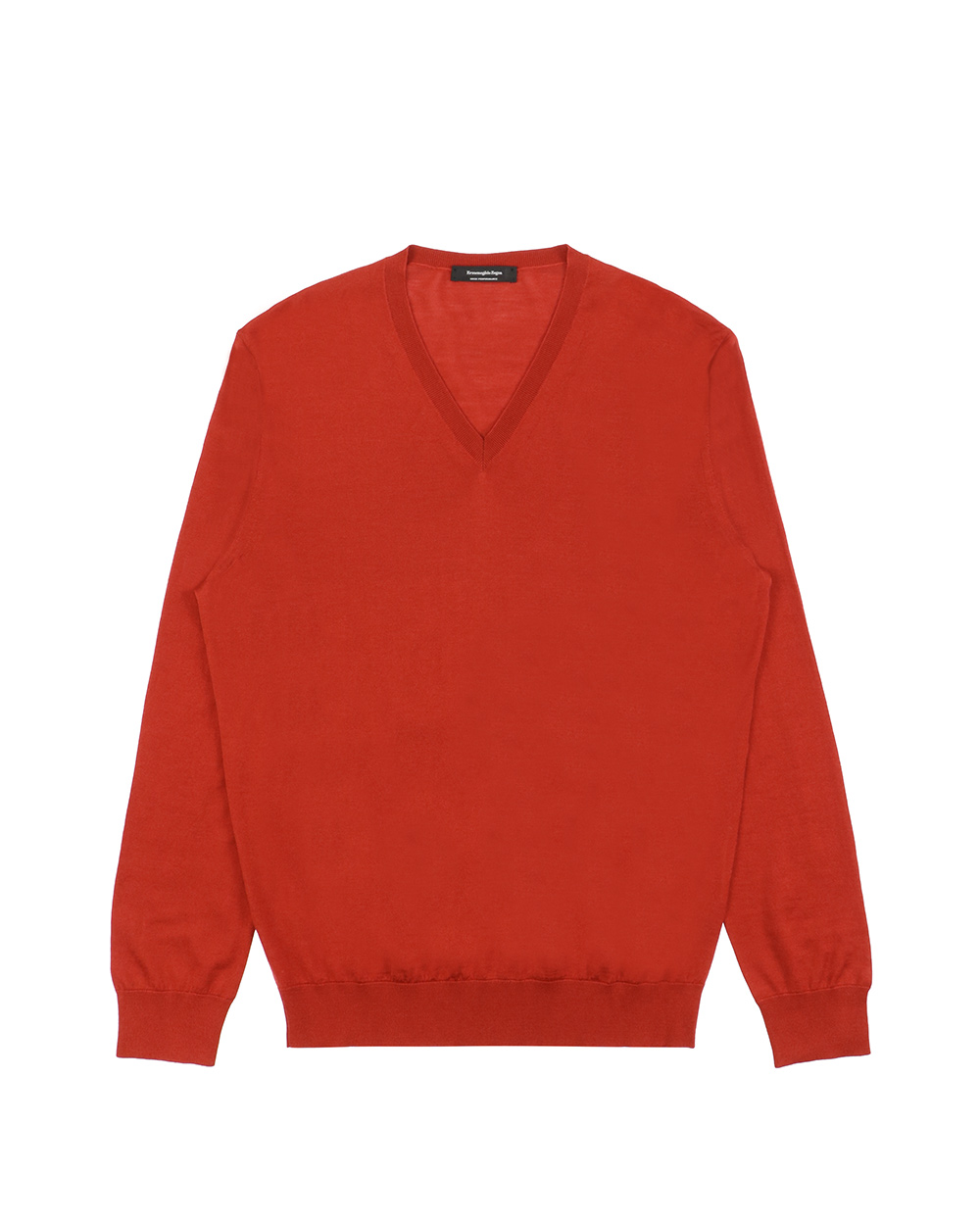 Knitted V-Neck Long Sleeves Sweater