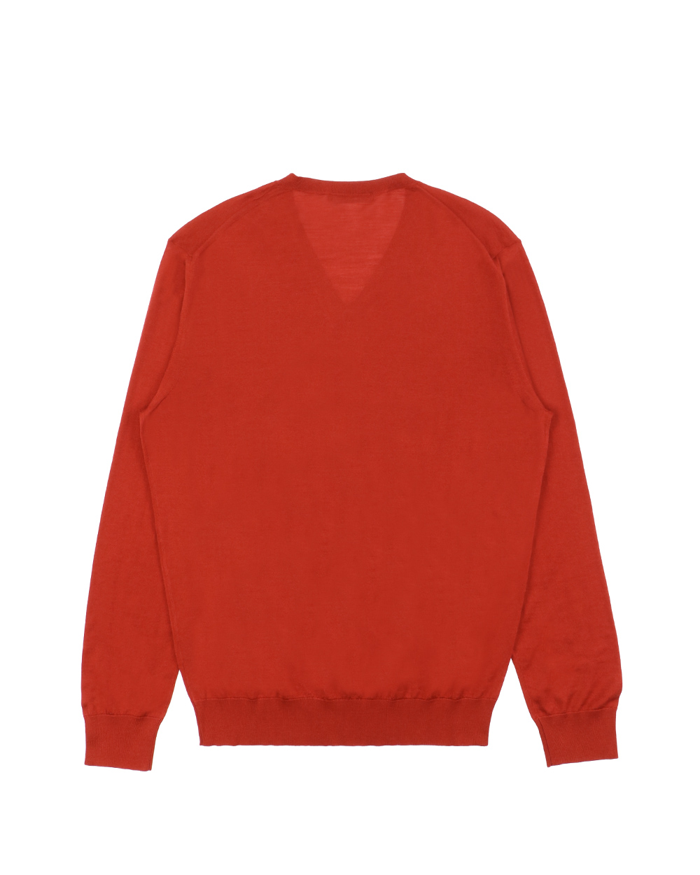 Knitted V-Neck Long Sleeves Sweater 1