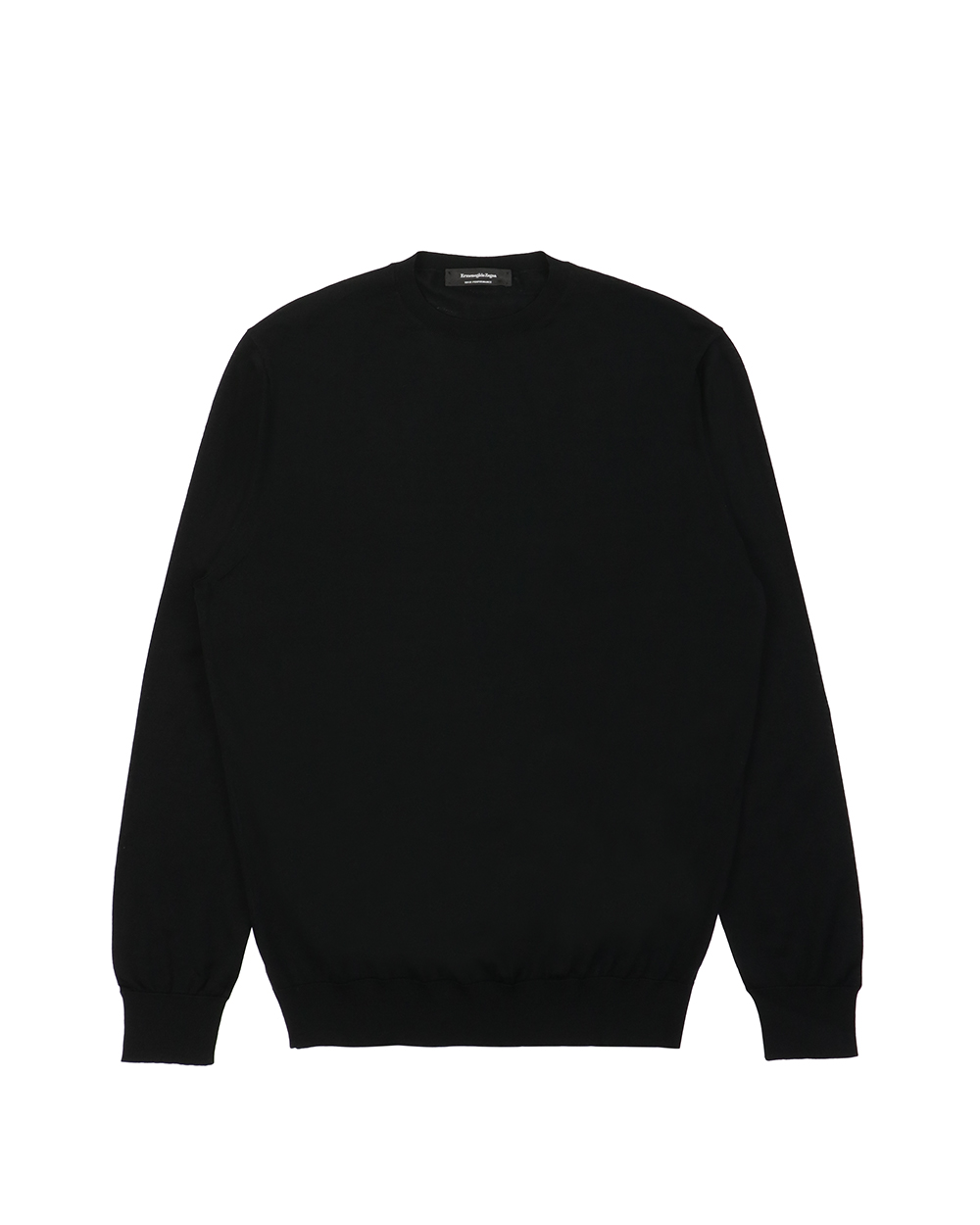 Cotton Long Sleeves Crew Neck Sweatshirt