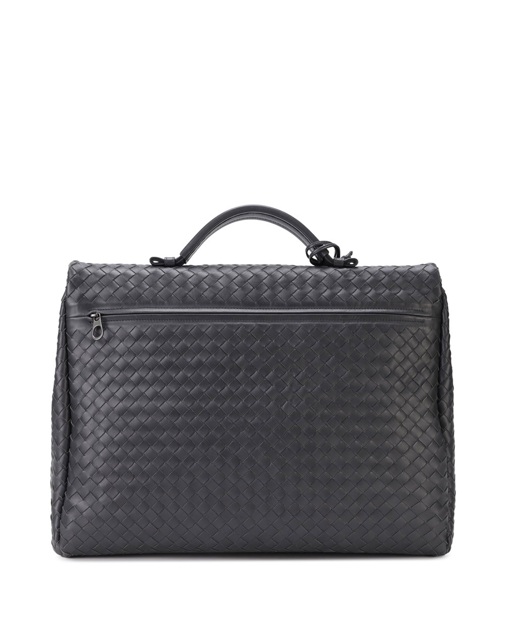 Woven Leather Briefcase 3